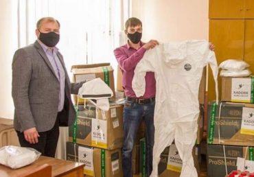 KADORR Agro обеспечила средствами защиты жителей Пятихатского района