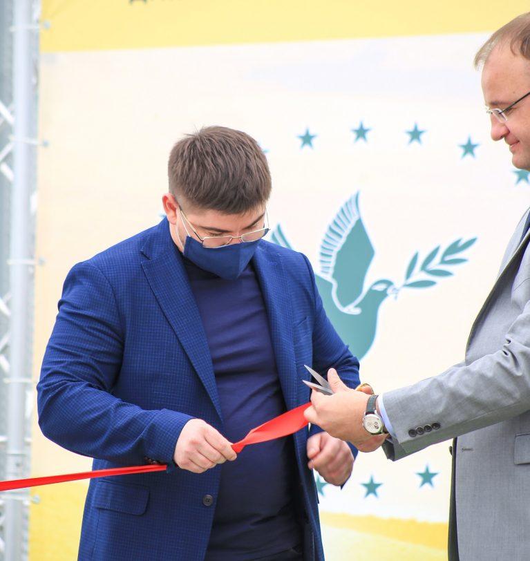 Торжественное открытие элеватора «Зерно-Агро»