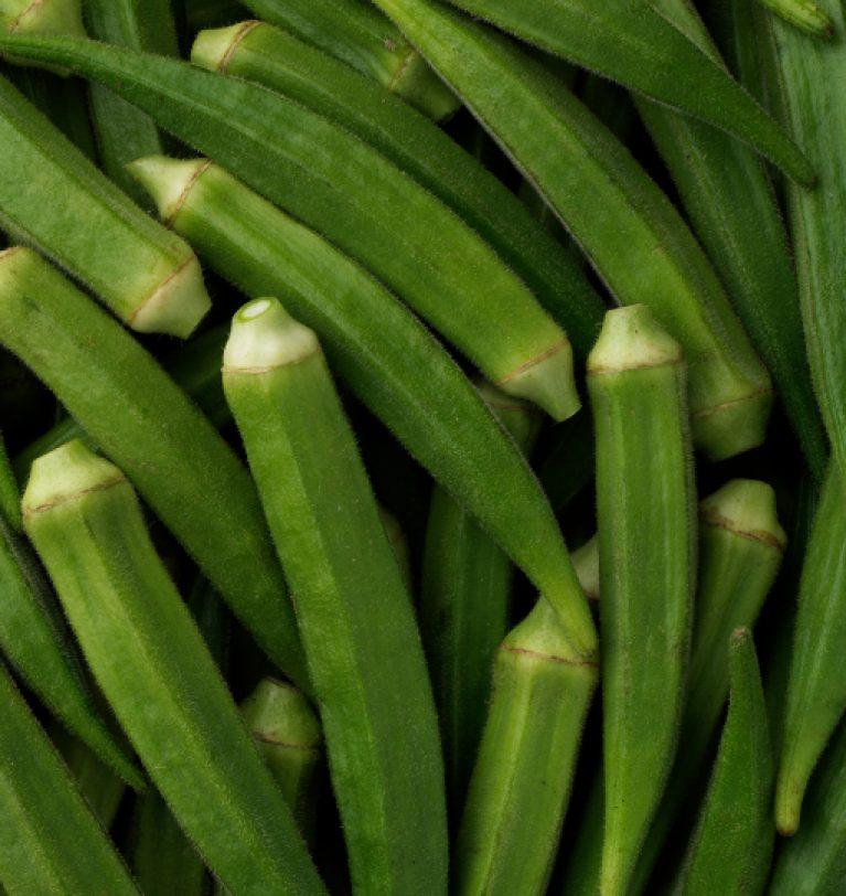 В Украине собрали первый урожай бамии