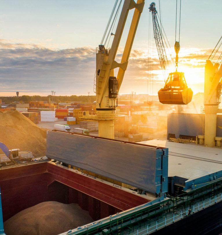 Более 24 млн т зерна Украина экспортировала с начала сезона