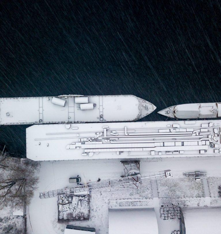 Из-за погоды в пяти украинских портах ограничена перевалка